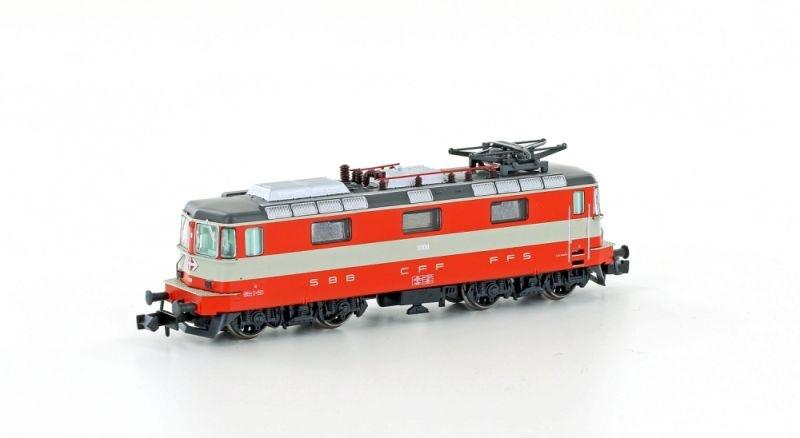 E-Lok Re 4/4 II 1.Serie der SBB Swiss, Ep. V, DC, Spur N