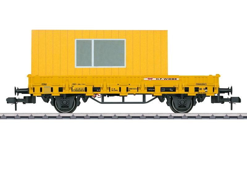 Niederbordwagen Kls der H.F. Wiebe, Spur 1
