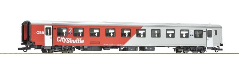 Nahverkehrswagen 2. Klasse City-Shuttle der ÖBB, DC, H0