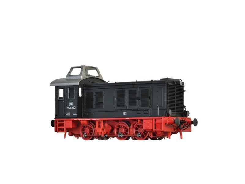 Diesellok V36 der DB, III, AC Digital BASIC+, Spur H0