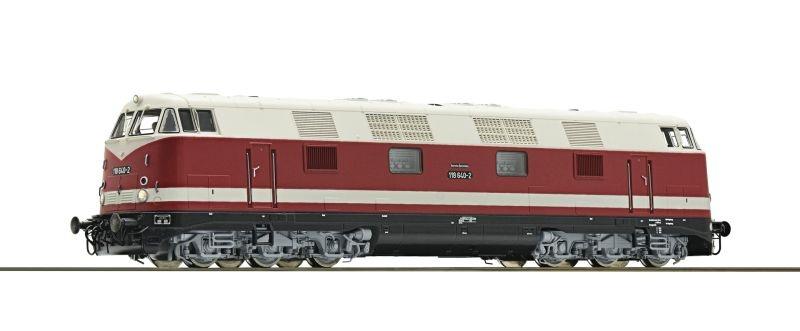 Diesellokomotive 118 619 der DR, Sound, AC, H0