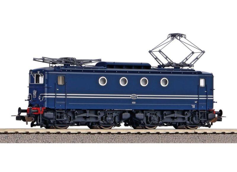 E-Lok Rh 1100 der NS blau, Ep. III, AC, Spur H0