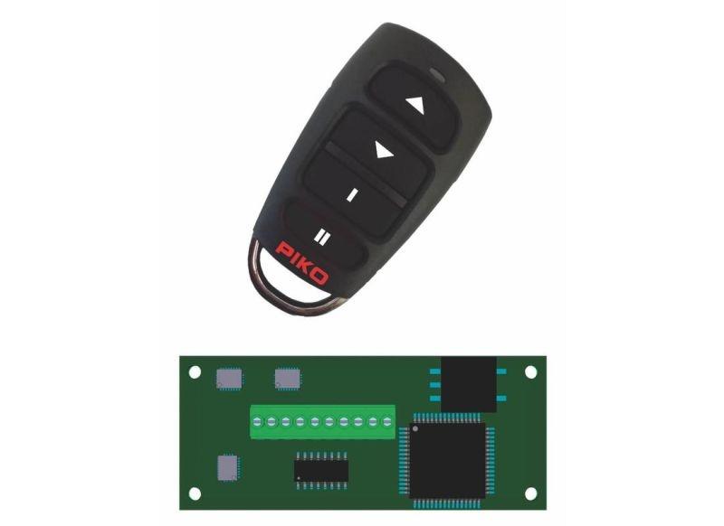 R/C Sender und Empfänger für Loks