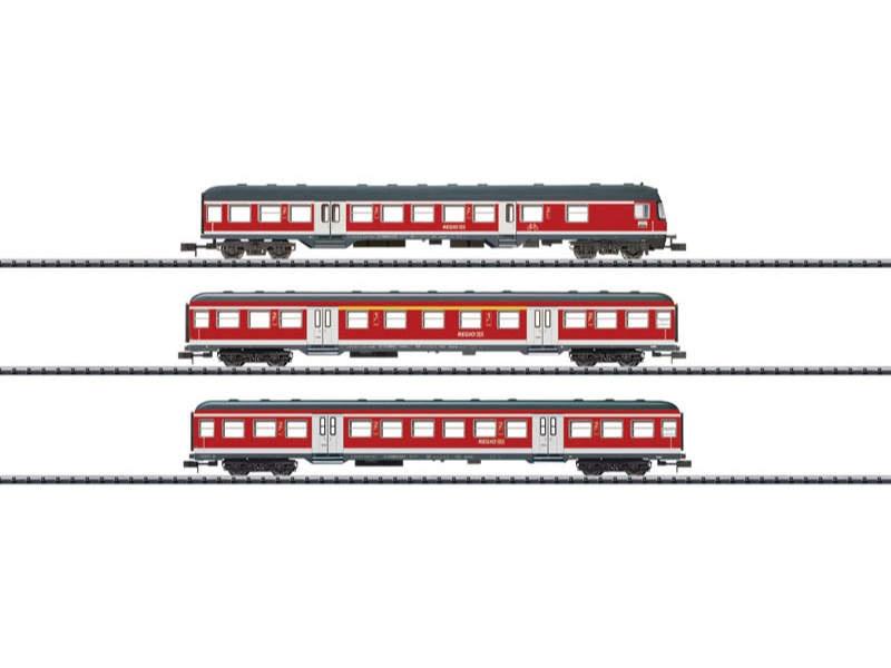 Wagen-Set Regionalexpress DB AG Spur N