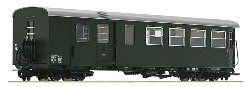 Personenwagen 2. Klasse mit Gepäckabteil der ÖBB, Ep.IV, H0e