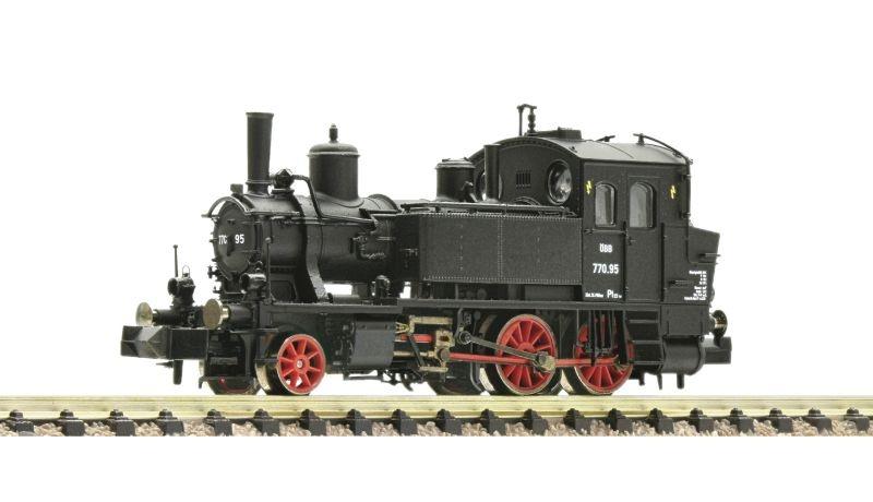 Dampflokomotive 770.95 der ÖBB, DCC, DC, Spur H0