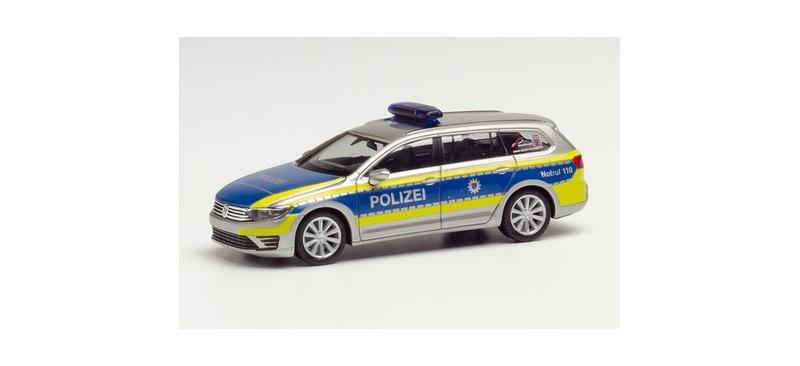 Volkswagen Passat GTE Polizei Hessen, 1:87 / Spur H0