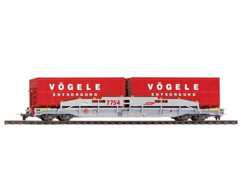 Bemo 2291169 Güterwagen ACTS-Tragwagen R-w 8379 RhB H0m