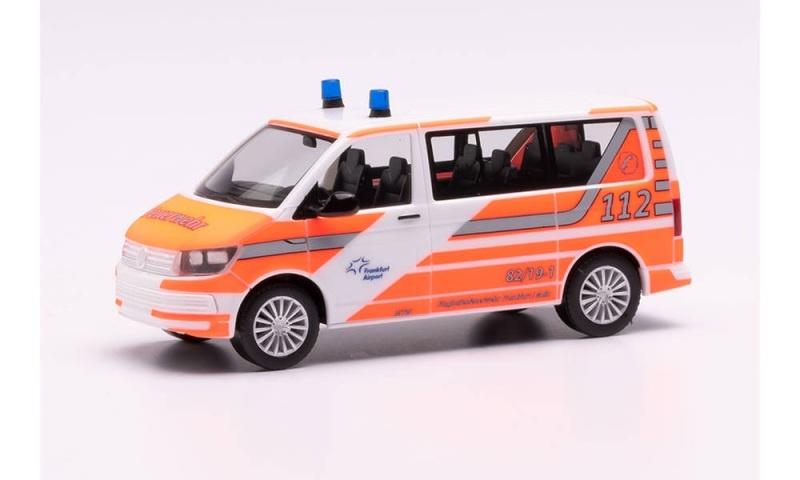 VW T6 Bus Flughafenfeuerwehr Fraport, 1:87, H0
