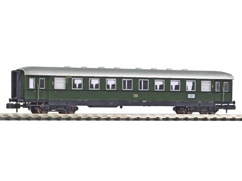 Schürzeneilzugwagen 2. Klasse der DB, III, Spur N