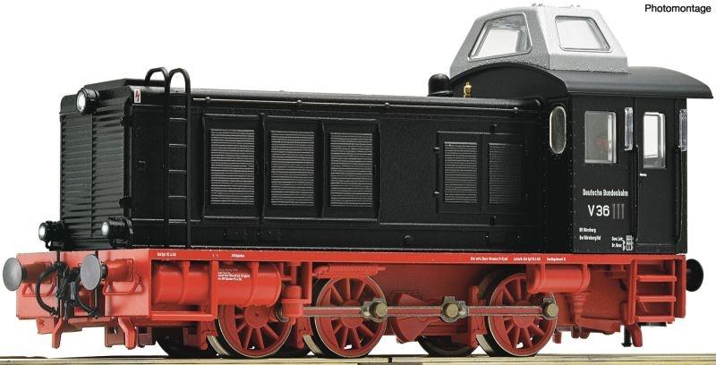Diesellokomotive BR V 36 der DB, DC, Spur H0
