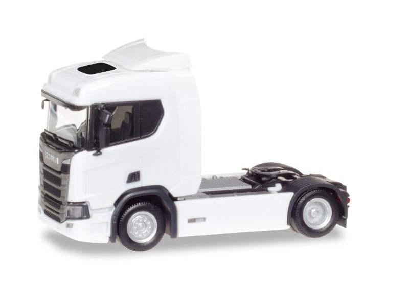 Scania CR 20 ND Zugmaschine, weiß, 1:87 / Spur H0