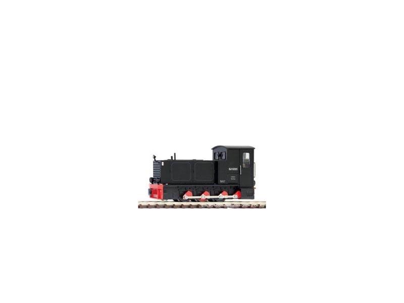 Diesellok HF130C Köf 6001 Zittauer Schmalspurbahnen, H0e