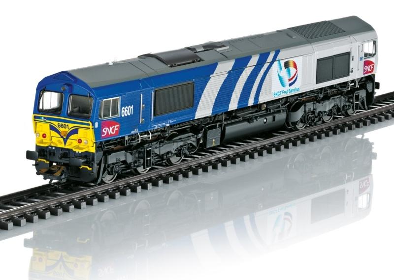 Diesellokomotive Class 66 der SNCF, Sound, DC, Spur H0