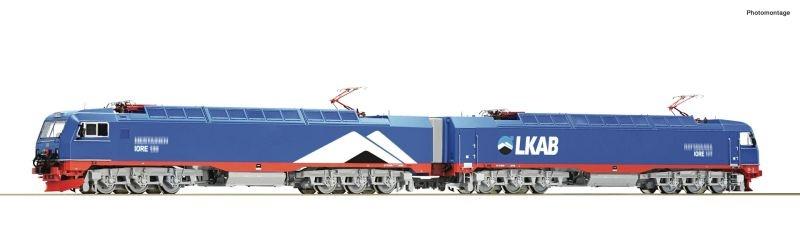 Elektrische Doppellokomotive IORE, LKAB, Sound, DC, Spur H0