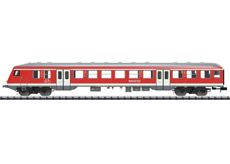Steuerwagen Bauart Bnrbdzf 480.1 der DB AG, Minitrix Spur N