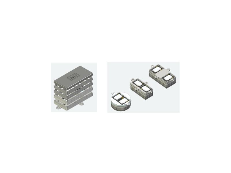 Lautsprecherset, Dual 11x15mm, Modulares Schallkapselset