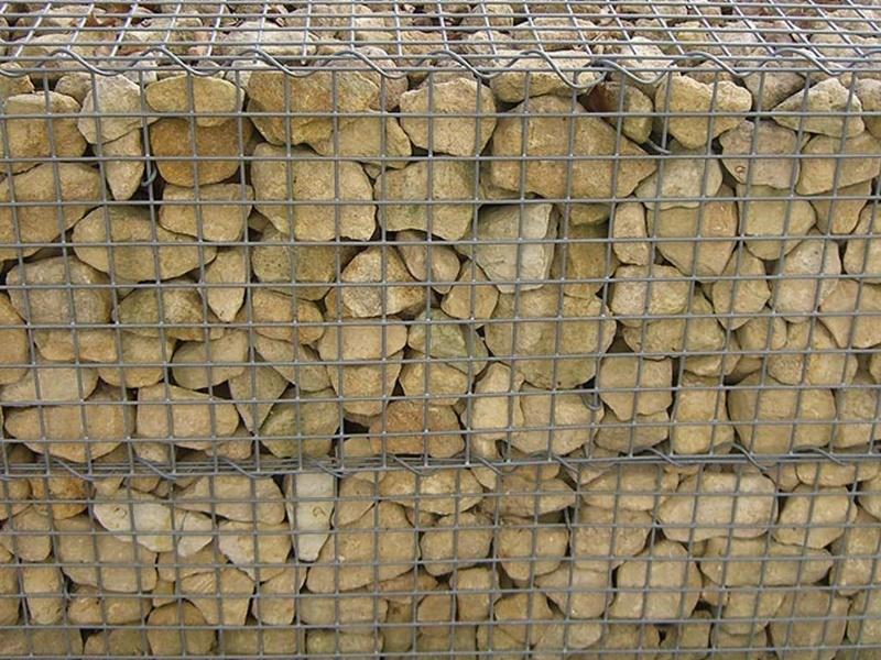 Mauerplatte Gabionen aus Karton, 25 x 12,5 cm, Spur H0
