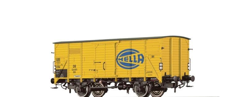 Gedeckter Güterwagen G10 Hella der DB, Epoche III, Spur H0