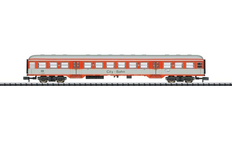 Personenwaen City-Bahn 2. Klasse der DB, Minitrix Spur N
