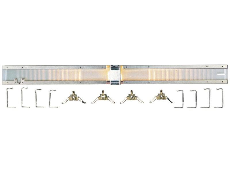 Innenbeleuchtung für Reisezugwagen mit LüP 282 mm H0
