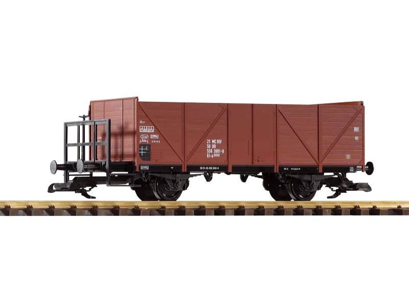 Offener Güterwagen mit Bremserbühne der DB,Epoche IV, Spur G