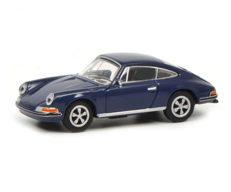 Porsche 911S Coupé, blau 1:87 / Spur H0