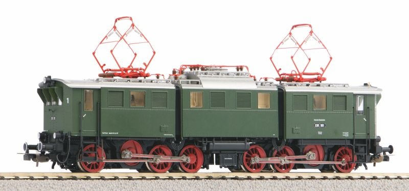 E-Lok BR E 91 der DB, Ep. III, DC, Spur H0