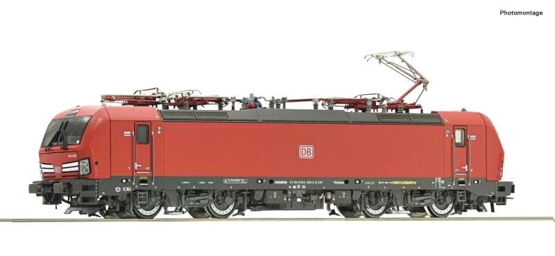 Elektrolokomotive 193 398-5 der DB AG, DC, Spur H0