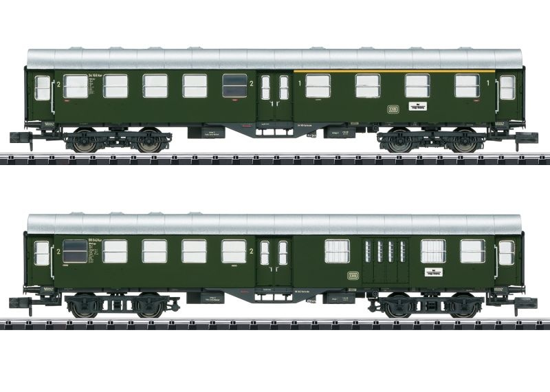 Umbauwagen-Set der DB, Minitrix Spur N