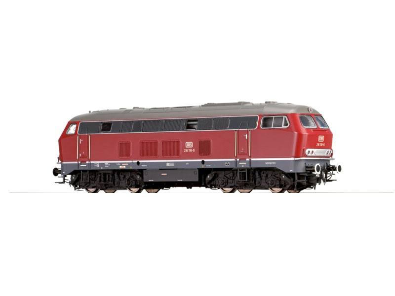 Diesellokomotive BR 216 rot der DB, IV, DC, Spur N