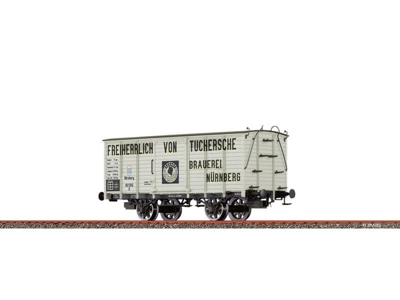 Güterwagen G KBayStsB, I, Tuchersche, DC, Spur H0