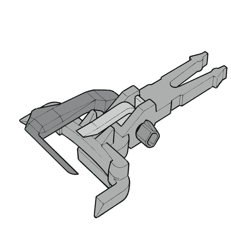 Universalkupplung NEM 362 12 Stk. H0