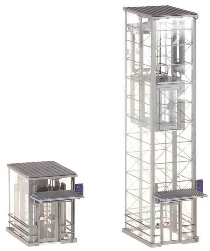 Moderne Aufzüge Bausatz H0
