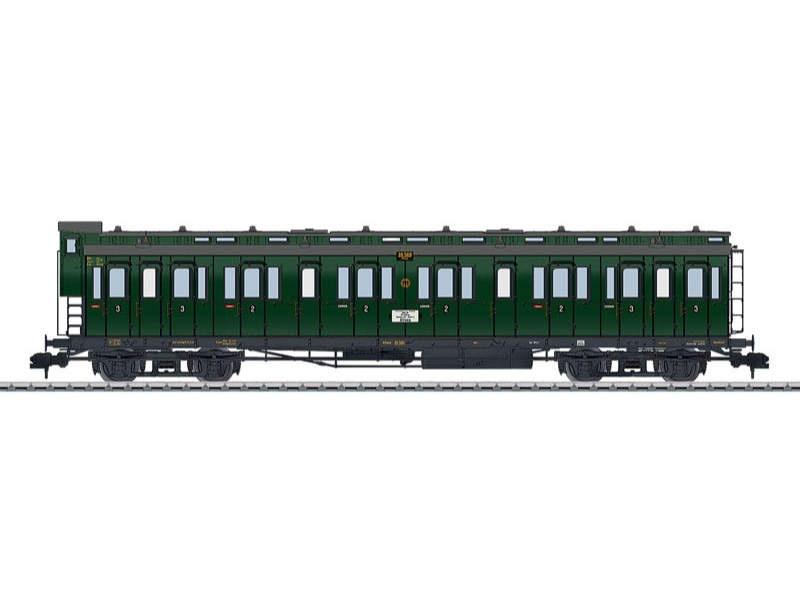 Abteilwagen BC4 Pr 04 2./3. Klasse DRG Spur 1
