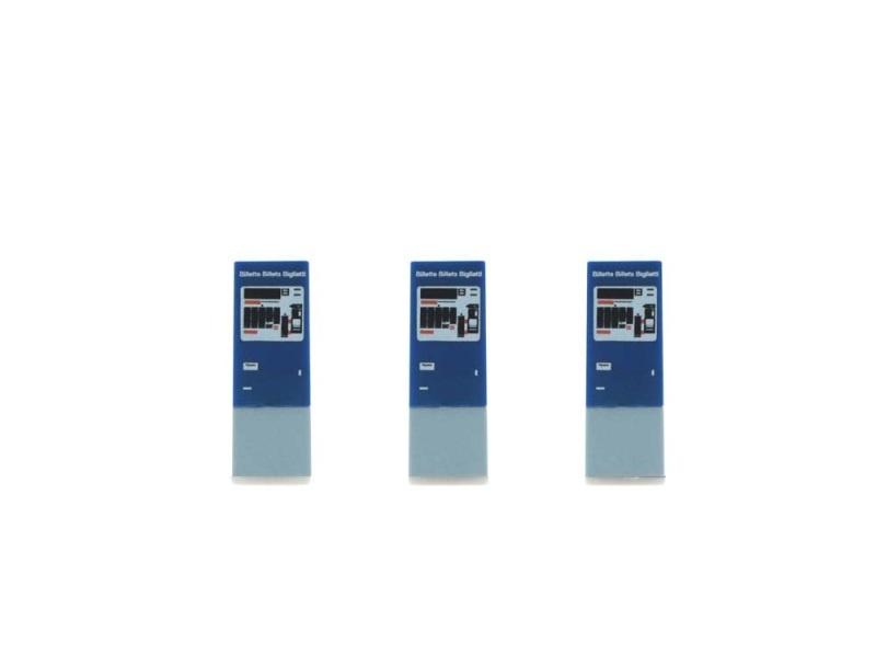 Snackautomat 3 Stück SBB Billettautomat (CH), 1:87 / H0