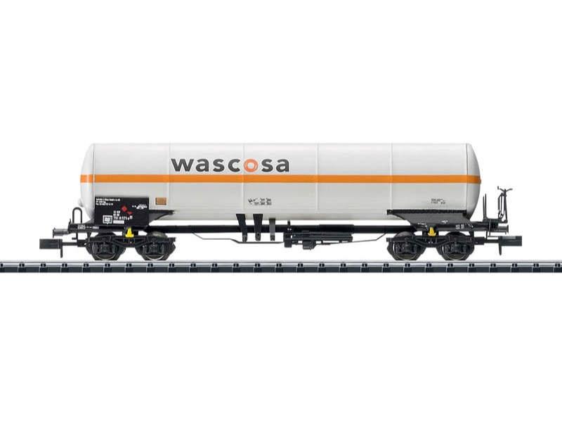 Gaskesselwagen Zagkks, Wascosa, DB, Spur N Minitrix