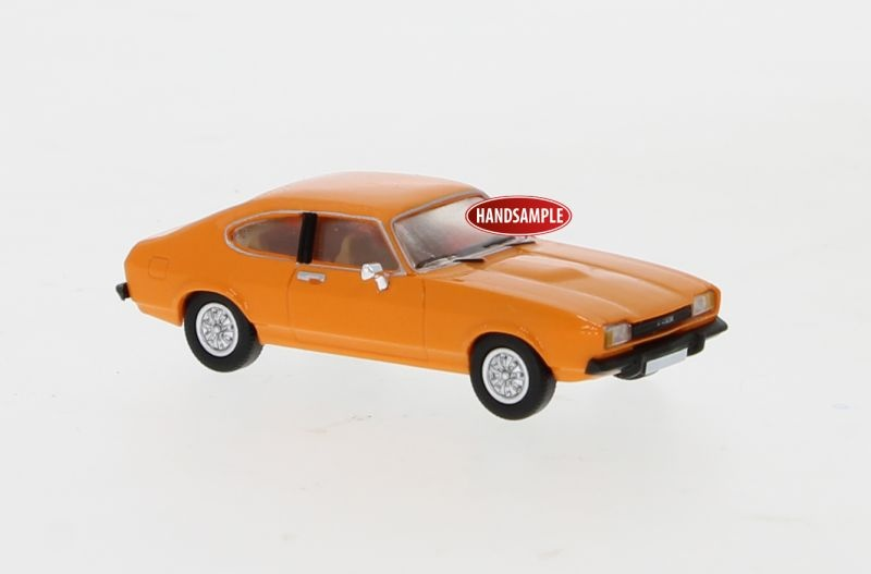 Ford Capri MK II orange, 1974, 1:87 / Spur H0