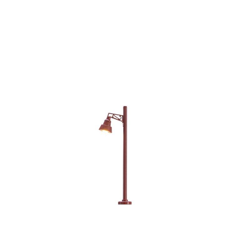 LED-Holzmastleuchte mit Stecksockel, Spur N