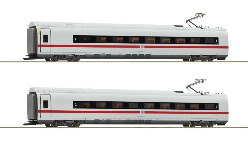 2-tlg. Set 1: Zwischenwagen ICE 3 (BR 407), DB AG, AC, H0