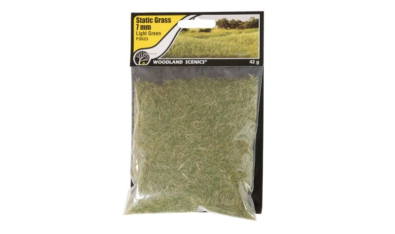 7mm Static Grass Hellgrün, 42 g