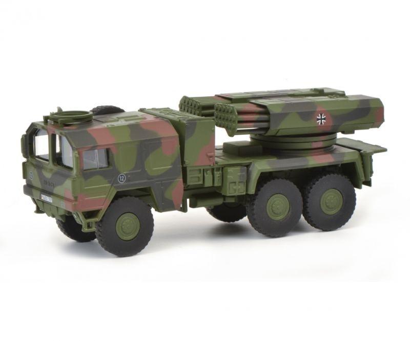 MAN 7t gl KAT1 Raketenwerfer Lars II BW, 1:87 / Spur H0