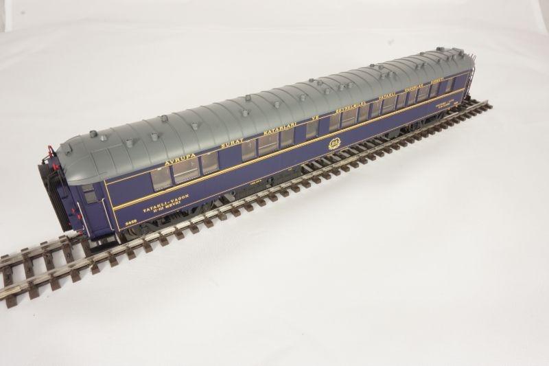 Schlafwagen der CIWL 1./2.Klasse, blau, Epoche II, Spur H0