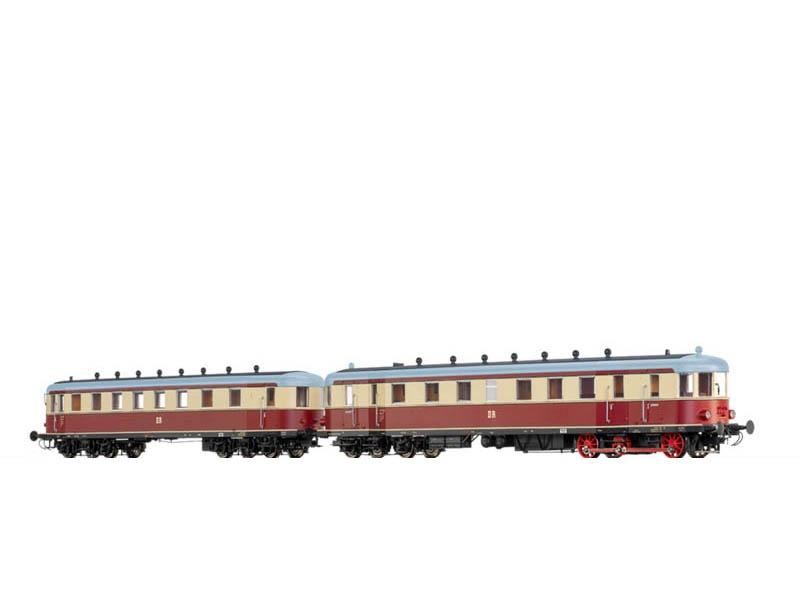 Triebwagen VT137 und VB147 DR, III, Digital Extra, DC, H0