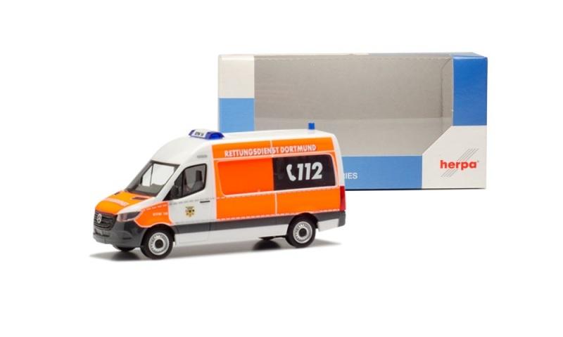 Mercedes-Benz Sprinter`18 Bus Feuerwehr Dortmund, 1:87/ H0