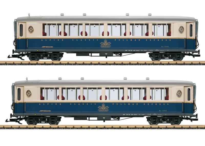 Wagen-Set Pullmann Express, Spur G