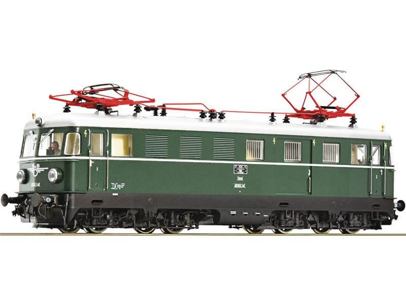 Elektrotriebwagen 4061.14 grün der ÖBB, Sound, AC, Spur H0