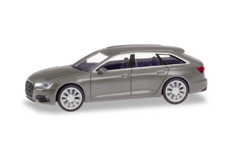 Audi A6 Avant, taifungrau metallic, 1:87 / Spur H0