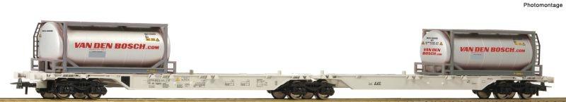 Container-Doppeltragwagen der AAE, DC, Spur H0
