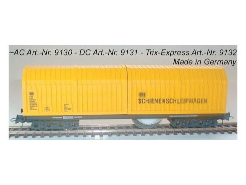 Schienen- und Oberleitungsschleifwagen mit SSF-09, AC, H0